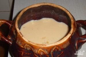 Молочная каша в горшочке - фото шаг 5