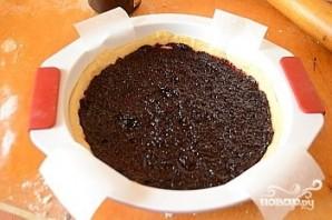 Быстрый песочный пирог с вареньем - фото шаг 3