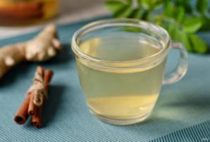 Зеленый чай с имбирем и корицей - фото шаг 6