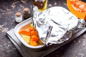 Тыква с картошкой запеченная в духовке - фото шаг 6