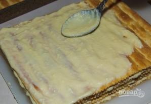 """Торт с готовыми коржами """"Наполеон"""" - фото шаг 4"""
