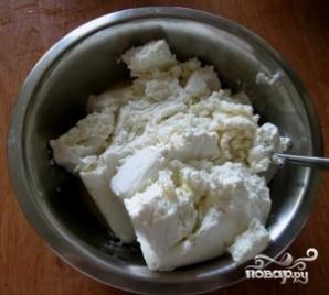 Творожный пирог с грушами - фото шаг 3