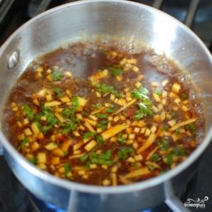Лосось в китайском соусе, запеченный в духовке - фото шаг 6