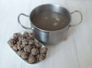 Суп харчо с фрикадельками - фото шаг 5