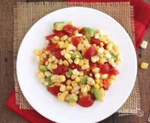 Авокадо: рецепт салата - фото шаг 3