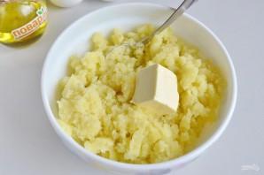 Картофельный пирог с грибами и сыром - фото шаг 6