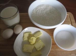 Оладушки на молоке - фото шаг 1