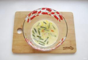 Омлет с овощами в духовке - фото шаг 9