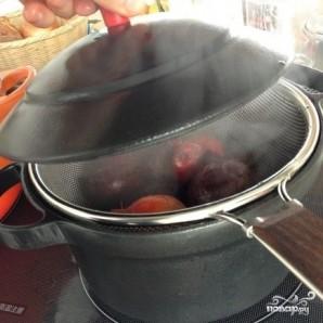 Свекольный салат с мандаринами - фото шаг 2