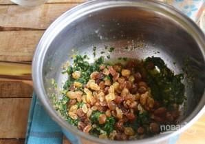 Рис со шпинатом и изюмом - фото шаг 7