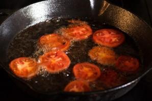 Жареные баклажаны с овощами - фото шаг 7