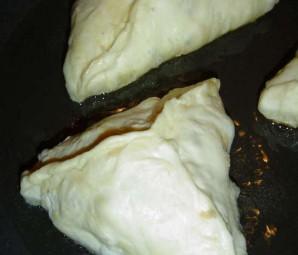 Пирожки с яблоками на сковороде - фото шаг 8