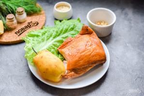 Салат с копченой курицей и грушей - фото шаг 1