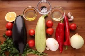Овощи на сковороде-гриль - фото шаг 1