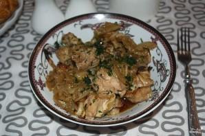 Куриное филе кусочками в духовке - фото шаг 6