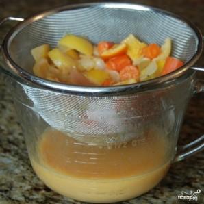 Курица с овощами в цитрусовом соусе - фото шаг 12