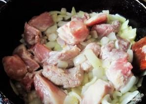 Свинина, тушеная со сливами - фото шаг 5