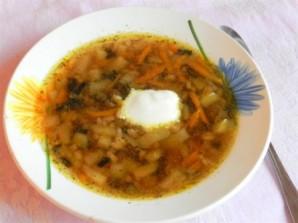 Грибной суп из сушеных грибов в мультиварке - фото шаг 9