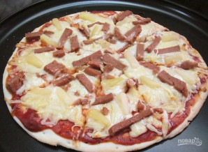 Пицца по-гавайски - фото шаг 4