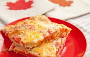 Омлет в духовке с помидорами - фото шаг 5