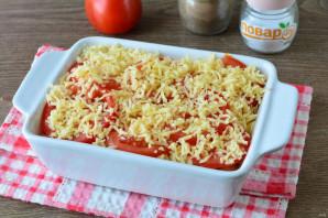 Запеканка из макарон с помидорами и сыром - фото шаг 8