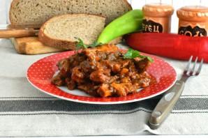 Говяжий рубец в томатном соусе - фото шаг 7