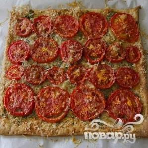 """Тарт """"Три сыра"""" с помидорами - фото шаг 7"""