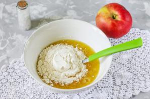 Песочное печенье с яблоками - фото шаг 4