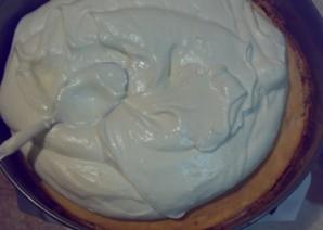 "Торт ""Птичье молоко"" на желатине - фото шаг 4"