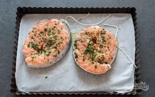 Лосось, запеченный с картофелем - фото шаг 2
