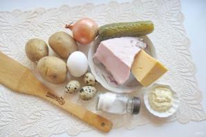 "Салат ""Мышка"" с сыром - фото шаг 1"