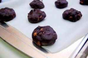 """Печенье """"Двойной шоколад"""" с миндалём - фото шаг 3"""