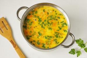 Сырный суп из горбуши - фото шаг 8