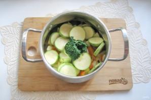 Суп-пюре из кабачков со сливками - фото шаг 6