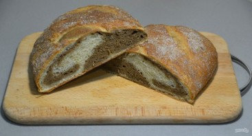 Мраморный хлеб - фото шаг 26