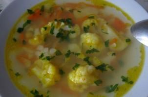 Овощной суп с цветной капустой - фото шаг 4
