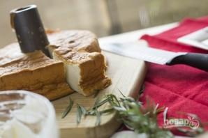 Ванильный торт с ягодным компоте - фото шаг 5