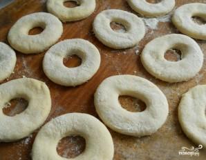 Пончики на кислом молоке - фото шаг 3