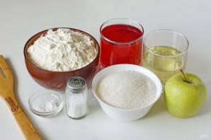 Постный кекс на соке - фото шаг 1