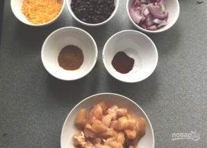Куриный буррито - фото шаг 1