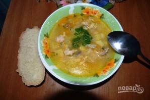 Суп рыбный из горбуши консервы - фото шаг 9