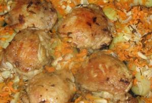Бедра куриные в духовке с картошкой - фото шаг 3