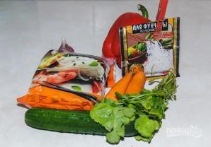 Салат из фунчозы - фото шаг 1