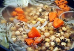 Суп с мясом и нутом - фото шаг 5