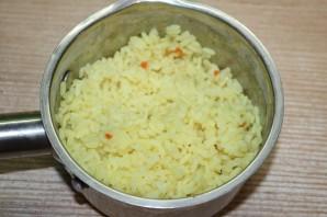Рисовый салат на Новый год Свиньи - фото шаг 2