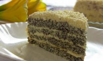 "Маковый торт ""Царица Эстер"" - фото шаг 10"