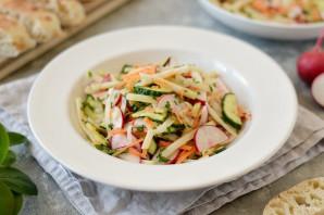 Салат из кольраби и редиса - фото шаг 7
