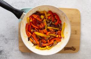 Карамелизированные овощи в сковороде - фото шаг 5