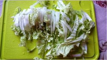 """Вегетарианский салат """"Цезарь"""" - фото шаг 1"""
