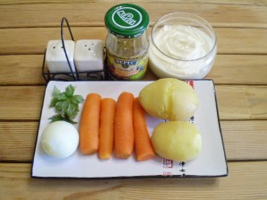 Салат из моркови и картофеля - фото шаг 1